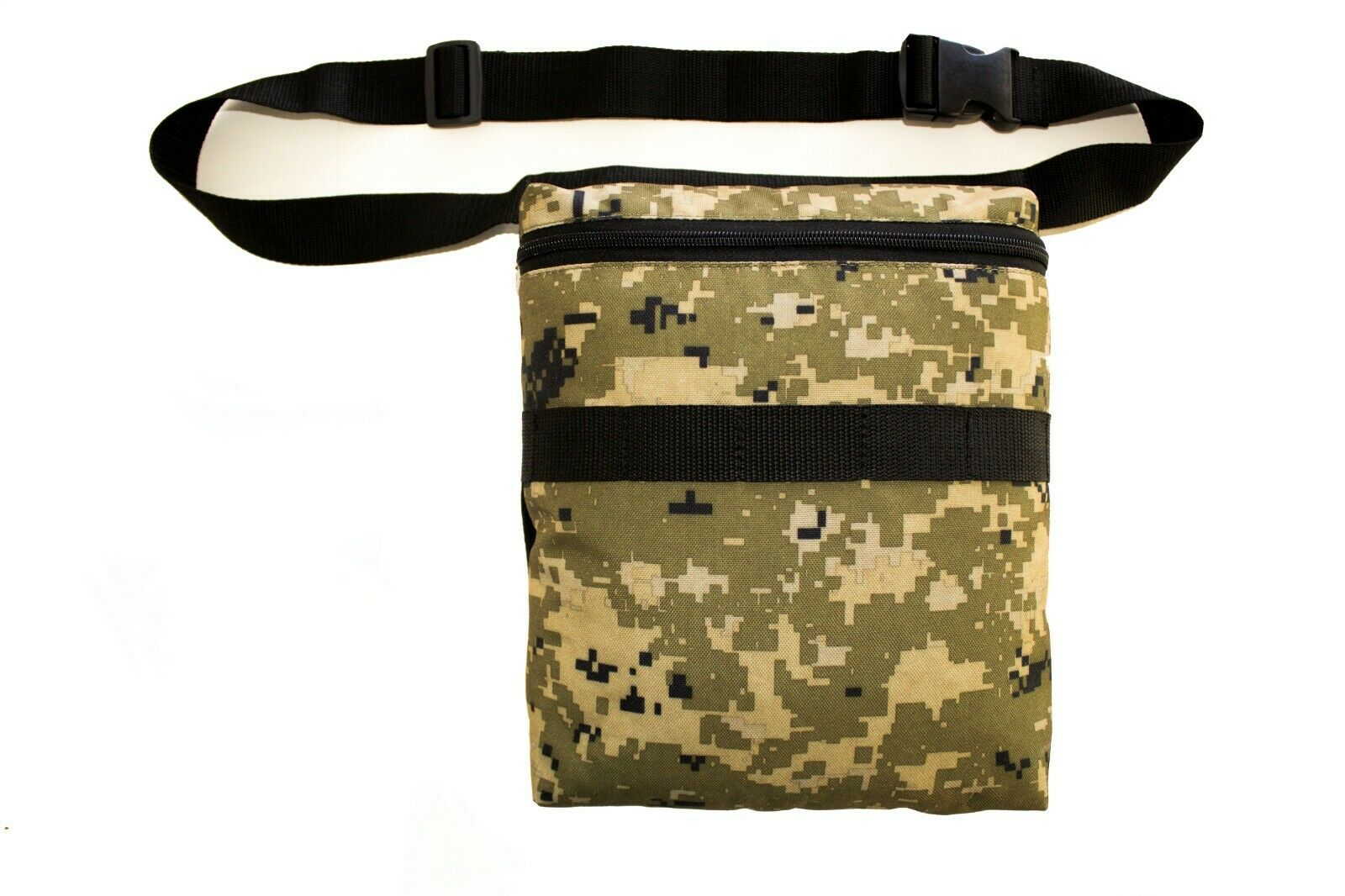 Camo PIXEL  Metal Detecting Finds Recovery Bag Pouch with Belt FREE SHIPPING