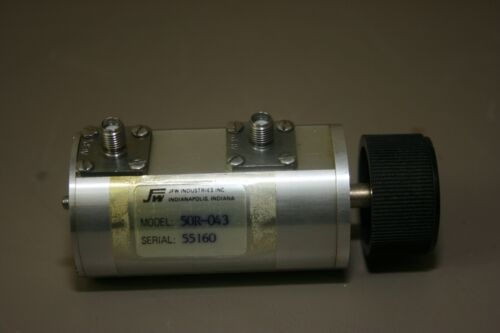 JFW 50R-043 DC to 1000 MHz, 0 to 100 dB, SMA (F) Rotary , Fully Tested, Warranty