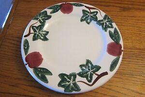 Santa Ana California Pottery Apples & Ivy 8