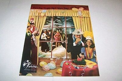 Vintage Catalog #435 - 1974 PARTYLINE party supplies hat catalog](Party Supplies Catalog)