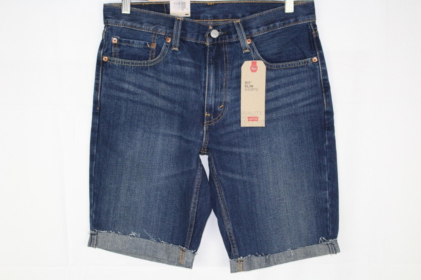 Levi's Men's 511 Slim Cut Off Shorts On The Roof 365550209