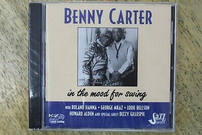 Sealed New Benny Carter In The Mood For Swing CD-Jazz Society-5180567
