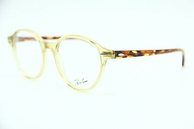NEW RAY-BAN JR RB 7118 8021 YELLOW EYEGLASSES RB7118 AUTHENTIC FRAME RX 50-19