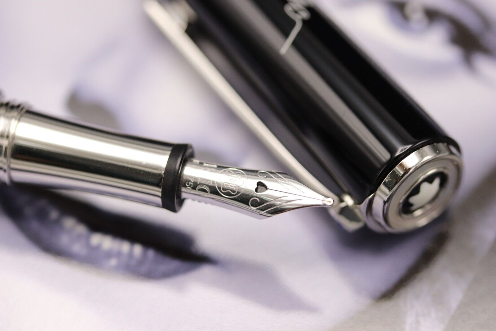 Montblanc Diva Line Marlene Dietrich Special Edition Fountain Pen - NEW MARCH 21 2