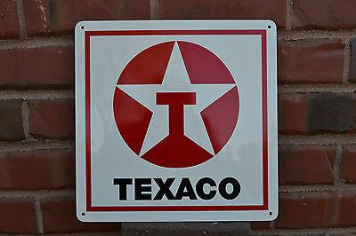 Texaco Gas Station Pump SIGN Service Garage Mechanic Shop Advertising Logo FreeS