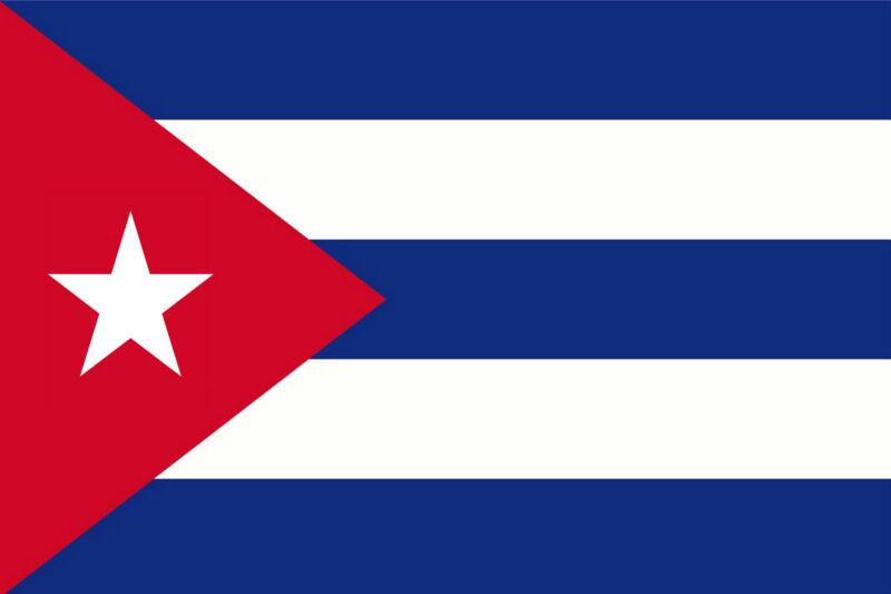 ****CUBA CUBAN VINYL FLAG DECAL / STICKER****