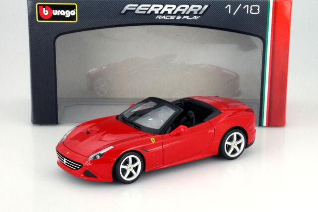 Ferrari California T open Year 2014 red 1:18 Bburago