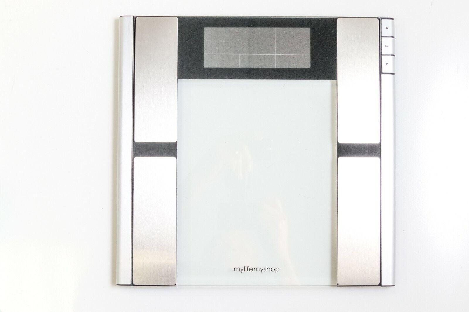 My Life My Shop Digital Scale Body Analyzer MM42114 Fat Weight Water Bone Muscle - $77.49