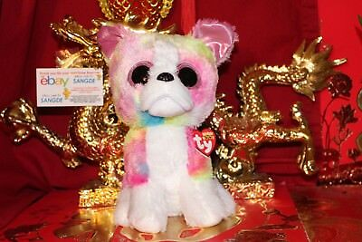 "TY BEANIE BOOS ISLA THE DOG.MEDIUM~9"".CLAIRE'S EXCLUSIVE.2017.MWNMT.NICE GIFT"