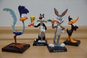 4 Figuren Looney Tunes Warner Bros Figur Neu Original verpackt Hobby Work