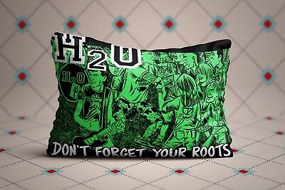 (Cool H2O Hardcore Punk Band Dont Forget Your Roots Zippered Pillow Cases 20X30)