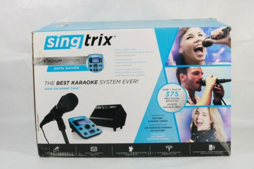 Singtrix Party Bundle Stadium Edition Karaoke System Missing Mic
