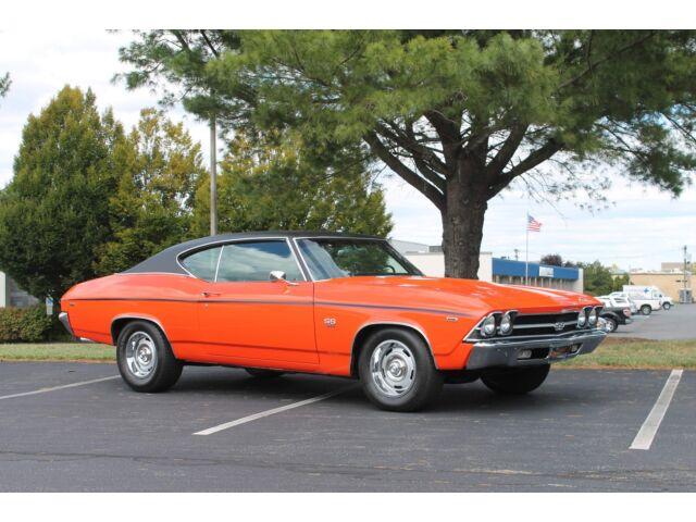 Chevrolet : Chevelle SS 396 V8, 350HP, Complete Restoration, Automatic, Hugger Orange