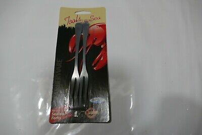 4 Pack Farberware Stainless Steel Seafood Picks Forks 78010SF