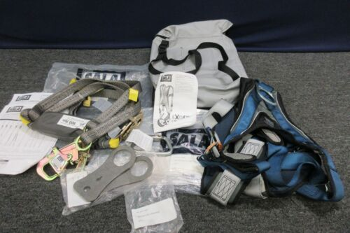 Sala Dbi Exofit Xp Full Body Climbing Safety Lanyard Positioning Harness Medium