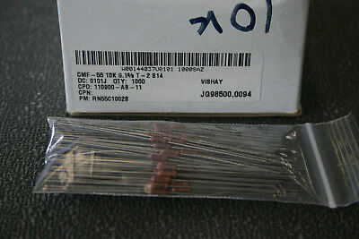 100 Pieces Vishay Dale Rn55c1002b 10k Ohm 110 Watt .1 Tolerence