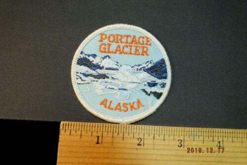 """Vintage Portage Glacier  Alaska Embroidered Patch 2.75"""""""
