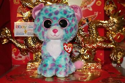 "TY BEANIE BOOS SYDNEY THE CLAIRE'S EXCLUSIVE LEOPARD.9"".2016.MWNMT.NICE GIFT"