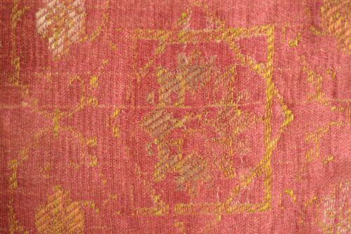 ANTIQUE 16th CENTURY OTOMAN SILK KEHMA BURSA BROCADE TEXTILE FRAGMENT