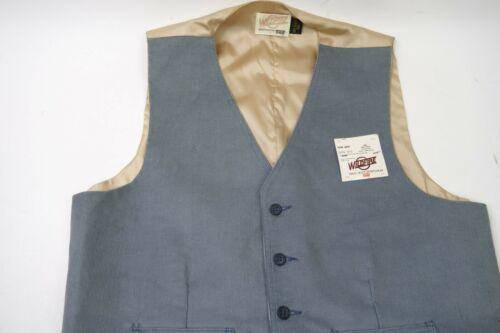 Vintage  Levis Wildfire Corduroy Vest Men Size XL Made In The USA 1970s