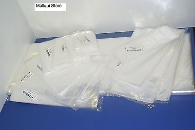 25 CLEAR 24 x 24 LAY FLAT OPEN TOP POLY BAGS PLASTIC PACKING ULINE BEST 1 MIL