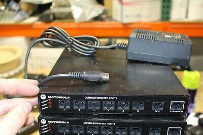 Motorola Astro Spectra L3208a Digital Junction Box Mc3000 Deskset Controller