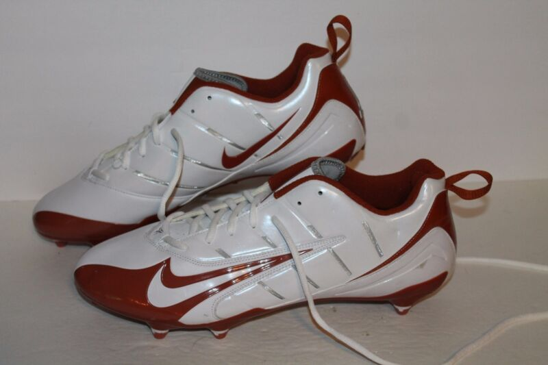 1140ab6e2ab0 Nike Super Speed D Low Football Cleats, #318745-118, Wht/Burnt ...