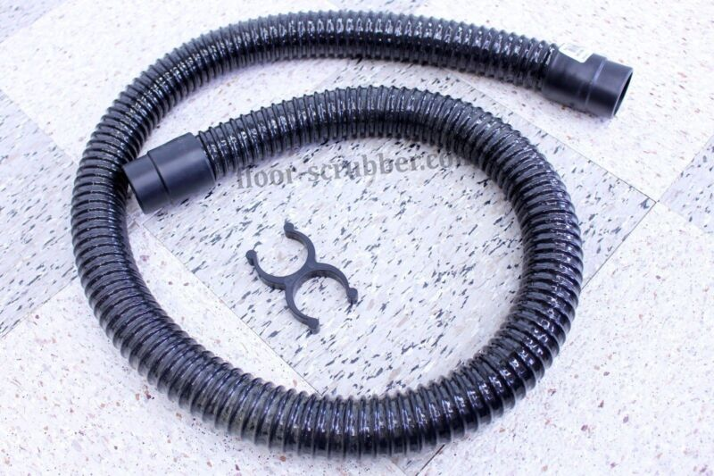 Vac Hose for Floor Scrubbers Nobles SS5 1014026 Aftermarket & Clip 1014079