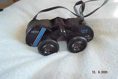 Ultra Wide Angle,Remarkable 12deg, Swift Triton 7x35 binoculars, VG++, with case
