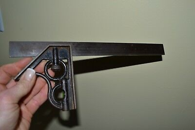 Vintage Union Tool Co. 12 Combination Square No.4 Hardened Steel Blade