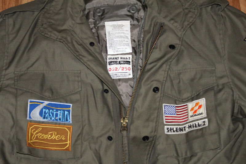 Silent Hill 2 James Sunderland's Jacket 2001 Limited Edition 062/250 PS2  Xbox | Shopping Bin - Search eBay faster