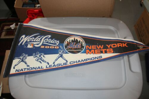 Vintage New York Mets 2000 World Series Pennant 30""