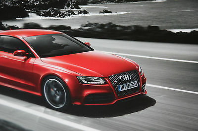 Audi RS5 Coupe Brochure July 2010 - MINT - Edition 1 - RS 5