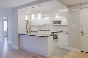 Fully Renovated Downtown 3 Bed 2 Bath unit - 5 1/2 centre-ville