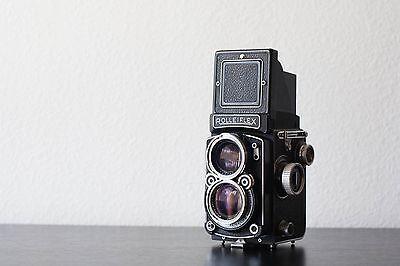 Rolleiflex 2.8 C 35mm TLR Film Camera (Xenotar Lens)