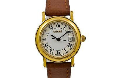 Vintage Gucci 7200L Quartz Gold Plated Ladies Watch 2007