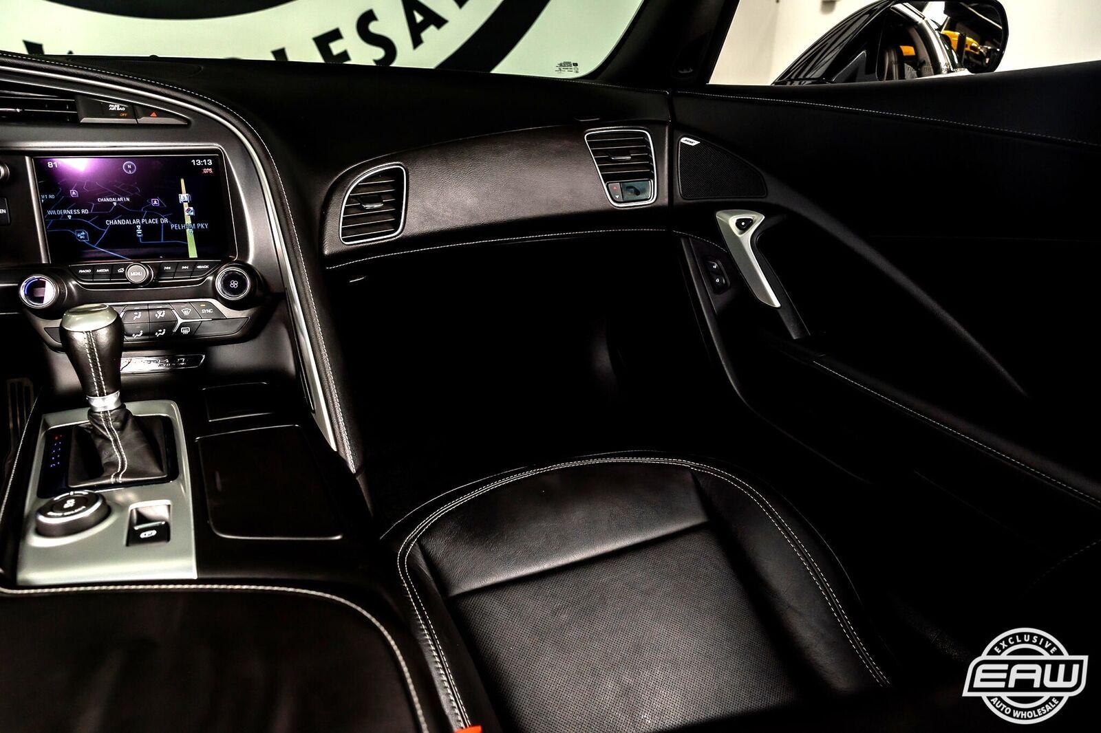 2014 White Chevrolet Corvette Coupe 1LT   C7 Corvette Photo 8