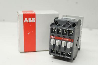 NIB ABB A9-30-10-51 Non-Reversing IEC Contactor 480V 60Hz 1SBL141001R5110