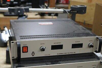 Glassman High Voltage Pseh20p00 5yv3 High Voltage Power Supply Output 20k 0.5