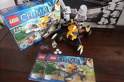 LEGO Legends of Chima Lennox Löwen-Buggy (70002) VOLLSTÄNDIG + alle FIGUREN +OVP online kaufen