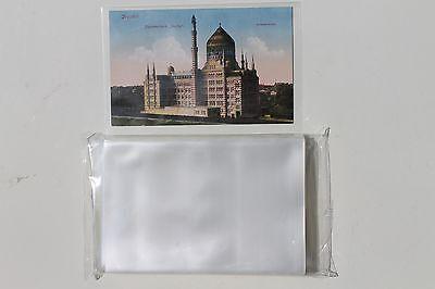 100 Ansichtskarten Fotos Postkarten Hüllen für alte AK NEU KLARSICHTIG 96x148 mm