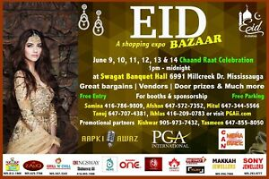 EID BAZAAR  SHOPPING EXPO 2018!