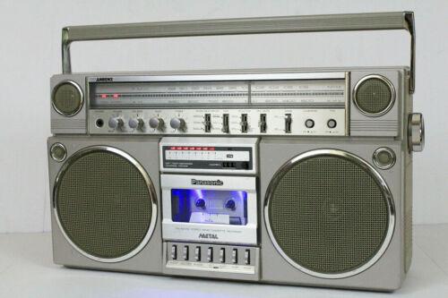Panasonic Platinum RX-5150 Vintage Cassette Boombox 80