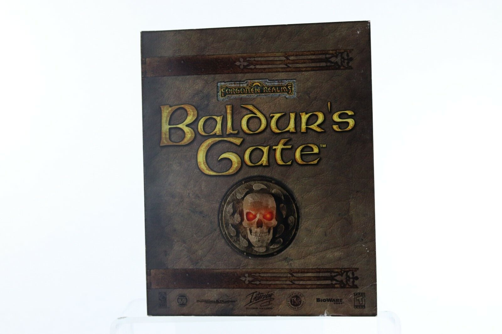 Computer Games - Baldur's Gate Forgotten Realms PC Computer Game 1998 BIG BOX COMPLETE Tested