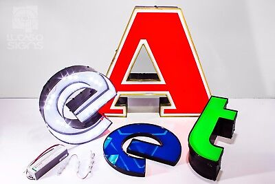 Illuminated Channel Letters Signs For Business And Stores