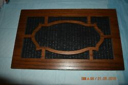 Side Access Wood Panels for GRANDFATHER CLOCK NEW OLD STOCK