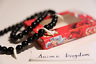 USA Seller Cosplay Inuyasha Beads of Subjugation Wolf teeth Fang Necklace in Box