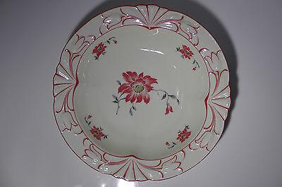 SCHUMANN BAVARIA Schale mit Blumen Dekor Porzellan Ø 28 cm 60er