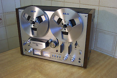 Akai Gx 4000d Reel To Reel Stereo Tape Recorder   7.5ips   4 track   Serviced