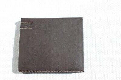 Gebraucht, Maitre - Herren Herrenportmonee Portemonnaie Geldbörse dunkelbraun Leder gebraucht kaufen  Paderborn